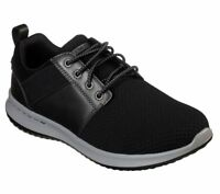 Skechers shoes Black Men's Air Memory Foam Comfort Casual Sporty Flex Mesh 65642