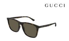GUCCI Sunglasses GG0404S ( 009 ) Havana / Dark Green RRP-£200