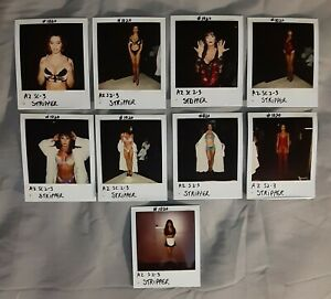 Married with Children lot of 9 original wardrobe continuity photos STRIPPERS!