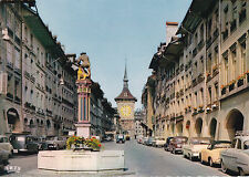 Bern Kramgasse and Clocktower Switzerland Postcard Unused VGC