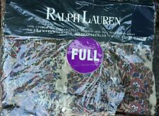 NEW Vintage Polo Ralph Lauren Emerson Paisley Full Deep Fitted Sheet Made in USA