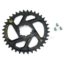 Sram X-Sync 2 Eagle Xx1 X01 Direct Mount 36T Chainring 6mm Offset 12 Speed, Gold
