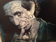 KEITH (RICHARDS) POINTING-LIMITED EDITION 6/99 GICLEE CANVAS. (SUBJECT) SIGNED