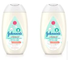 Lot of 2 Johnson's CottonTouch Newborn Baby Face and Body Lotion, 13.6 fl oz Ea