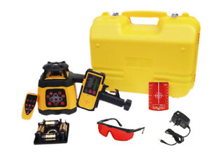 Fukuda FRE 2010 Rotary Laser Level Set - Receiver, Remote Control & NiMH Battery