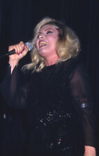 Deborah Debbie Harry Blondie Concert singing Candid Original 35mm Transparency