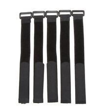5X Negro 30 cm Lipo Batería Pack Straps Correas De Amarre Reutilizable bandas Cables
