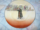 Royal Doulton Mr. Squeers Plate Signed Noke~Charles Dickens D5175~Mint~England~