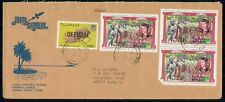 MayfairStamps Tuvalu 1984 Block Kings & Queens Royalty Cover WWH56131