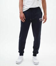 aeropostale mens aero 1987 box logo jogger sweatpants