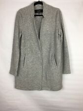 Vero Moda Women's Size Large Sweater Jacket Button Front Gray Pockets *Read