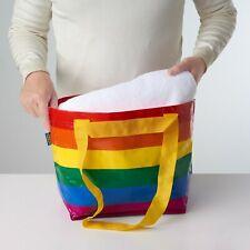 IKEA STORSTOMMA Small Rainbow Reusable Shopping Bag Recycle LGBT Frakta KVANTING