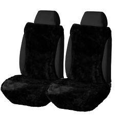 2er Lammfellbezug Schonbezug Auto echt Lammfell Vordere Sitzbezug AS7336sz-2