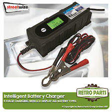Smart Automatic Battery Charger for Fiat 500C/595C. Inteligent 5 Stage