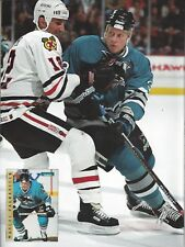 Teemu Salanne on Cover Beckett Hockey March, 1996 M Ragnarson on Bk