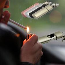 Aschenbecher Taschenaschenbecher Ascher Silber matt Metall mit Schlüsselanhänger