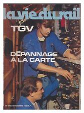 LA VIE DU RAIL 1982 N° 1868 VAPEUR AU ZIMBABWE TGV  VALMONDOIS
