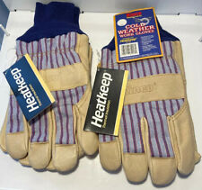 New Kinco 1927KW HeatKeep Insulated Pigskin Cold Weather Winter Gloves 2 PAIR XL
