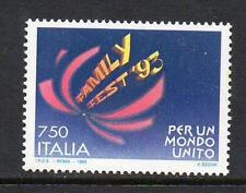 ITALIA Gomma integra, non linguellato 1993 sg2210 FAMILY FEST 93 INT Conferenza-ROMA
