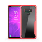 Slim Shockproof Clear TPU+PC Armor Cover For Samsung Galaxy Note 10/S9/S8/A7/A8