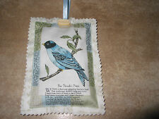 LAVENDER BAGS SACHET HANGING DECORATION HANDMADE FRENCH POSTCARD FABRIC GIFT