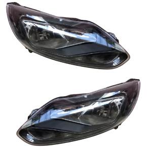 Ford Focus Mk3 Titanium Hatchback  2011-2014 Headlight Headlamp Pair Right Left