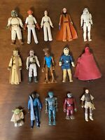 Vintage Kenner Star Wars Figures Lot of 15 Figures 1977-1983