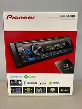 Pioneer MVH-S320BT Single DIN Bluetooth Mechless Digital Media Receiver NEW