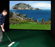 Indoor Golf Simulator from Par T Golf Simulators- Model Es1100 (High Def!)