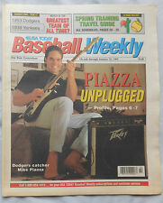 Jan 25th 1994 USA Today Baseball Weekly Mike Piazza Dodgers