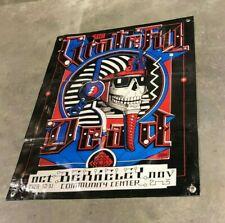 Grateful dead band canvas banner poster concert sign