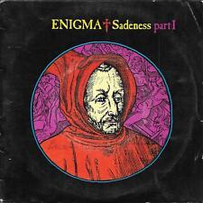 "45 TOURS / 7"" SINGLE--ENIGMA--SADENESS PART 1 / MEDITATION EDIT--1990"