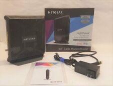 NETGEAR Nighthawk AC1900 Wi-Fi Cable Modem Router C7000-100NAS
