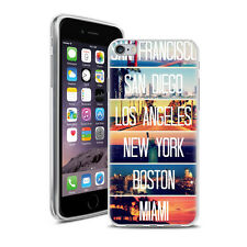 Coque Housse Iphone 6 Plus ( 5.5 Pouces ) + Verre Trempé - Motif Mix Amerique