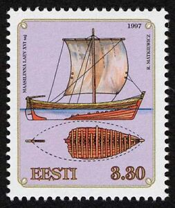Estonia 1997 MNH, Maasilinn Ship Wrecks Discovered by Archaeologist Vaike Strait