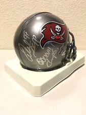 Warren Sapp Signed Tampa Bay Buccaneers Mini Helmet Upperdeck