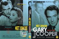Meet John Doe (1941) - Frank Capra, Gary Cooper, Barbara Stanwyck  DVD NEW