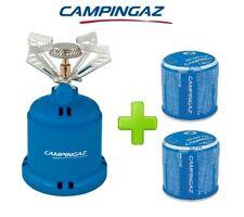 FORNELLO FORNELLINO GAS CAMPING STOVE 206 S 1230 W CAMPINGAZ + 2 CARTUCCE C206