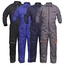 Work Wear Men's Overalls Boiler Suit Coveralls Mechanics Boilersuit Protective