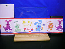 2 Blues Clues Wall Borders Blues Painting Colors