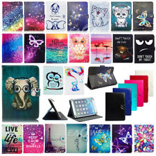 "For Samsung Galaxy Tab 2/3/4/A 7""8"" Universal PU Leather Tablet Stand Case Cover"