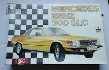 MERCEDES BENZ 500 SLC   1/24 ESCI MODEL KIT VERY RARE AND DISCONTINUED