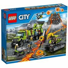 Lego City 60124 Volcano Exploration Base Present NISB