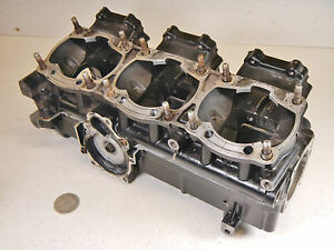 97 Arctic Cat ZRT600 ZRT 600 Triple Engine Motor Crankcase Crank Case