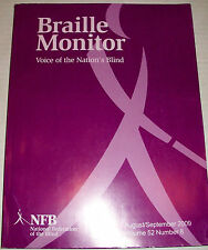 Braille Monitor Monthly English Magazine on Blindness News Back Issue April 2007