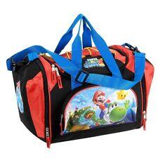 "Super Mario Galaxy 2 ☆ Small Duffle bag ☆Mario riding Yoshi ☆ 16""x12""x11"" ☆ NWT"