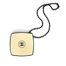 Chanel charm mirror on small chain LES BEIGES LE 2018 VIP GIFT