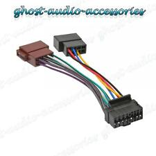 JVC 16 Pin Car Stereo Radio ISO Wiring Harness Connector Adaptor Cable JVC-101