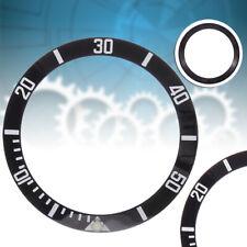40mm Inserto ghiera bi-colore nero bianco lunetta Bezel Per Submariner 116610
