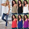 Womens Summer Sleeveless Vest Tee Shirt Blouse Casual Beach Tank Tops T Shirts